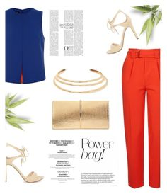 """In colors."" by zeljkaa ❤ liked on Polyvore featuring Topshop, Jaeger, Nina Ricci and Kenneth Jay Lane"