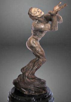 """Richard MacDonald Bronze Sculptures """"BUTTERFLY"""" 90 Series 1/2 Life Exquisite"""