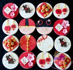 chinese new year cupcakes | returning customer asked me to make these Chinese new year cupcakes ...