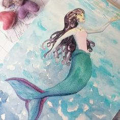 A bit of magic- because you're never too old to love mermaids.