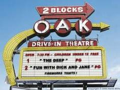The old Oak Drive-In, Royal Oak, Michigan. Good memories!  Hiding in the trunk to get in free...or under the blankets in the back of the family station wagon!!