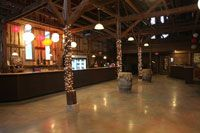 Equus Run Vineyards also has a party barn for events as well as space for outdoor weddings.