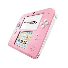 Nintendo 2DS - Konsole, pink/weiß