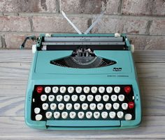 SMITH CORONA Cougar portable manual typewriter working 1960s on Etsy, $100.00
