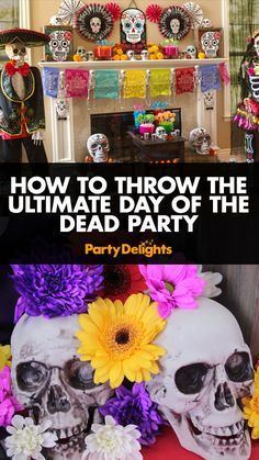 How to Throw the Ultimate Day of the Dead Party                                                                                                                                                                                 More                                                                                                                                                                                 More