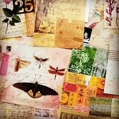 A bunch of collages by Carin Andersson)