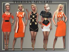 4 Whole outfits T.M. Spring 2016 by Judie at All About Style • Sims 4 Updates