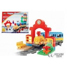 Trenul Happy Choo Choo compatibil Lego Duplo