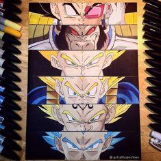 Anime Eyes: Vegeta - Dragonball Z Print Goku Dragon, Poster Anime, Dbz Memes, Dragon Ball Z Shirt, Anime Nerd, Anime Eyes, Manga Anime, Awesome Anime, Copics