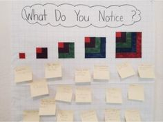 What Do You Notice? Open-ended problem-solving questions at our Math Classroom, Kindergarten Math, Teaching Math, Preschool Math, Maths, Problem Solving Activities, Math Activities, Grade 6 Math, Grade 2