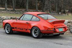 Porsche orange Carrera