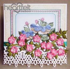 Heartfelt Creations   Pink Blooms