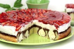 Czech Recipes, Sweet Cakes, Pavlova, Cheesecake Recipes, Food Hacks, Amazing Cakes, Nutella, Food And Drink, Cooking Recipes