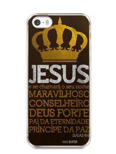 Capa Iphone 5/S Jesus #4 - SmartCases - Acessórios para celulares e tablets :)