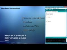 Uso de Funciones en Arduino - Tutorial - YouTube