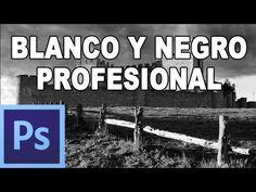 ▶ Cómo convertir a blanco y negro profesional - Tutorial Photoshop en Español por @Prisma Tutoriales (HD) - YouTube