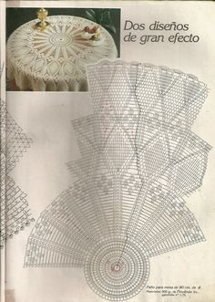 Diagram Crochet Doily Patterns With Crochet Table Topper, Crochet Tablecloth Pattern, Free Crochet Doily Patterns, Crochet Doily Diagram, Crochet Bedspread, Crochet Table Runner, Crochet Chart, Thread Crochet, Filet Crochet