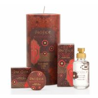 Mexican Cocoa Fragrance Collection   Pacifica Perfume. I love Pacifica products. My signature scent is to mix the Mexican Cocoa with Persian Rose. Chocolate & roses! Who wouldn't love that!  The candles are also absolutely amazing.