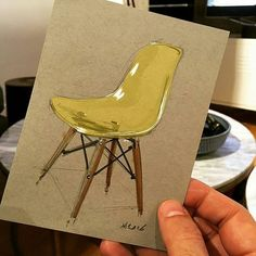 #ChairIllustration