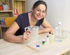 Quer fazer um difusor para aromatizar os ambientes de sua casa? A artista plástica e blogueira, Camila Camargo, ensina.