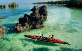 continueing the African experience - Zanzibar. i can totally see myself rocking that canoe :)