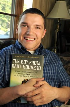 A Russian man who wrote a book about his experience growing up in an orphanage and how his life has changed for the better with his new life in America.