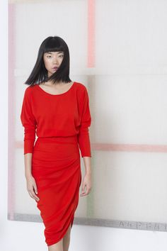 Lollypop dress. Cortana AW 2014- 2015 collection. Shop Online. Designed by Rosa Esteva for Cortana and crafted in Barcelona.