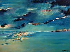 Vent d'Ouest Peintre Yves FERREC