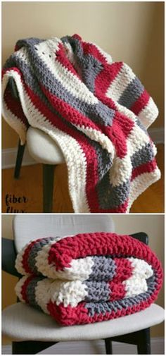 I have rounded up some of the best and interesting free crochet Blanket patterns for your home.Snow Berries Throw Free Crochet Pattern