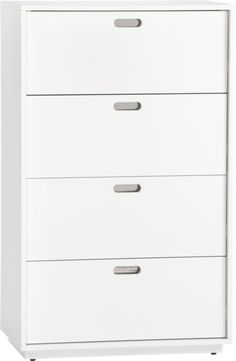 gloss tall chest in bedroom furniture | CB2