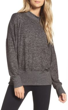 Women's Zella Cozy Mock Neck Pullover