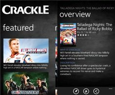 Crackle app now available for Windows Phone!