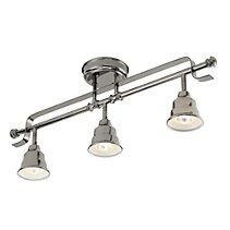 For Living Metal Track Fixture, Canopy Lights, Ceiling Lights, Canadian Tire, Lighting Online, Metal Finishes, Industrial Design, Track Lighting, Living Room Designs, Modern