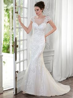 Petunia Wedding Dress by Maggie Sottero | front
