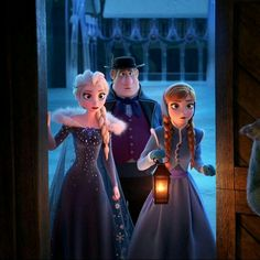 When Elsa and Anna figured out what Sven meant when Kristoff didn't.