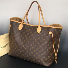 i will one day own this bag thanks to my husband- hint hint (Louis Vuitton Never Full GM)