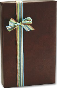 Everyday Gift Wrap - Leather Jacket Silk Sheen Gift Wrap, 24' x 417' (1 roll) - BOWS-M-6259H >>> Click on the image for additional details.