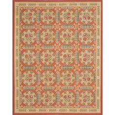 ecarpetgallery Handmade French Tapestry Wool Sumak Rug