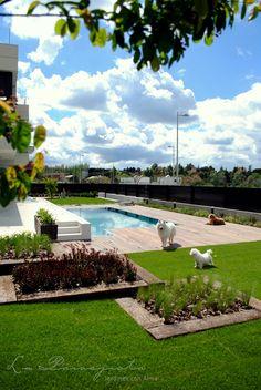 Paisajismo, Garden design, pool, Spain, deck