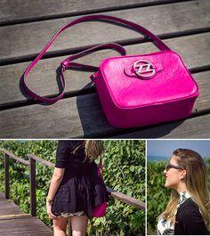 Look do Dia: P&B + Pink!