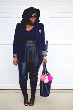 """After the week we had last week I had to decompress and do some self care. Check out my latest post """"Black Blazer + Over The Knee Booties"""" on Ali's Fashion Sense at www.alifashionsense.blogspot.com"""