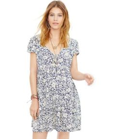 I like the flower print , the sleeves and neckline.  I think the rest of the style will look too frumpy on me