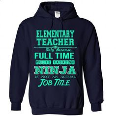 ELEMENTARY TEACHER - #workout tee #hoodie freebook. MORE INFO => https://www.sunfrog.com/LifeStyle/ELEMENTARY-TEACHER-2824-NavyBlue-Hoodie.html?68278