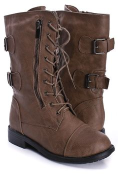 and even more combat boots.  i can't get enough.