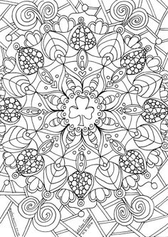 """Mandala Trefoil"" doodle by Lee Ann Fraser 2016 Owl & Toadstool: Girl Guides and Scout Doodles"