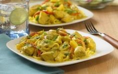 Coconut Curry Chicken and Vegetables Dr. Hyman's 10 Day Detox Plan Coconut curry chicken and vegetables Hyman's detox plan Whole Food Recipes, Cooking Recipes, Healthy Recipes, Paleo Meals, What's Cooking, Healthy Dinners, Recipes Dinner, Delicious Recipes, Vegetable Recipes