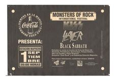 Videos: 23 años del debut de Kiss, Black Sabbath y Slayer en Chile