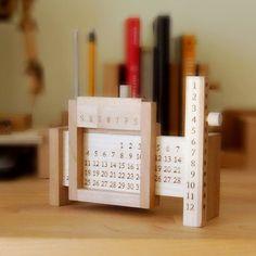 나무만년달력 -Wooden 10,000-years Calendar
