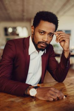 """marsthecreative: """" LaKeith Stanfield, Darius of Donald Glover's Atlanta, for The Cut by David Urbanke Styling by Diana Tsui; Grooming by Jillian Halouska; Mars Johnson """" yes Men In Black, Handsome Black Men, Black Boys, Francis Huster, Moda Blog, Donald Glover, Men Photoshoot, Black Actors, Style Outfits"""
