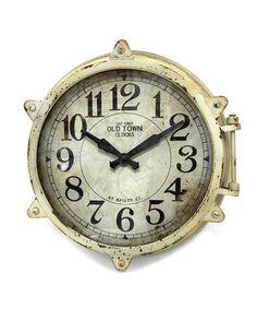 Love this High Seas Wall Clock on #zulily! #zulilyfinds
